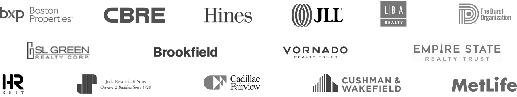 Trusted for Over 20 Years By The Industry's Top Real Estate Brands