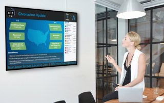 Digital Display for Residential and commercial Buildings