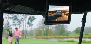 Captivate GOLF - Advertise on golf carts.