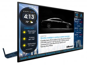 Captivate Large Format Display