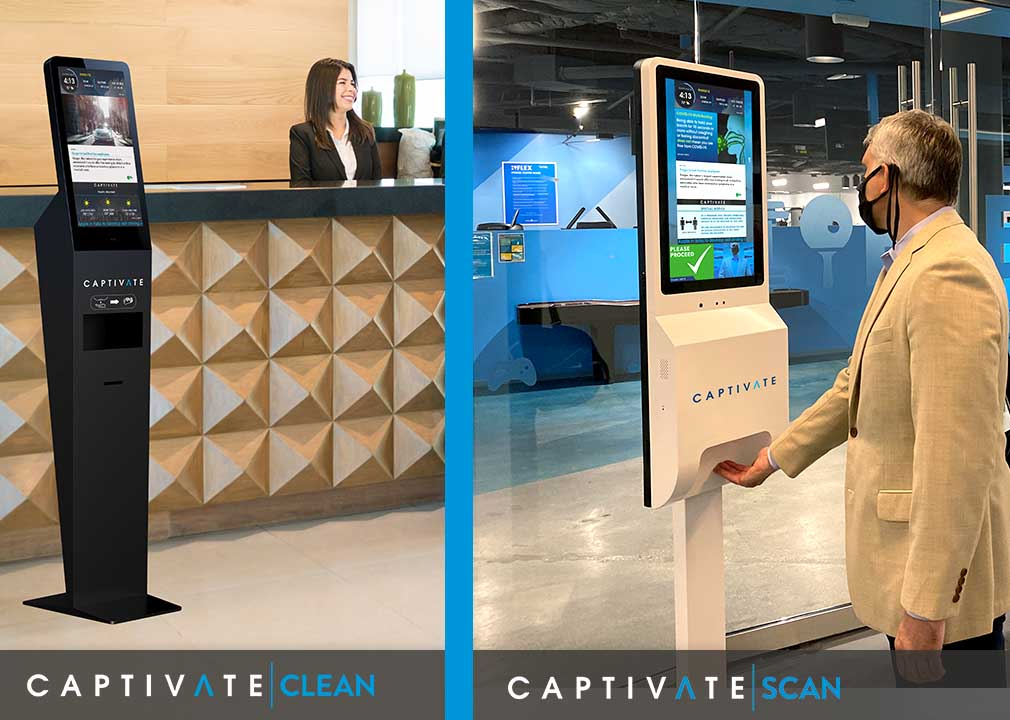 Captivate CLEAN and Captivate SCAN Displays