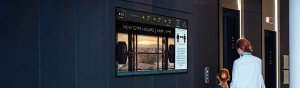 The Best Digital Signage for Residential Buildings.