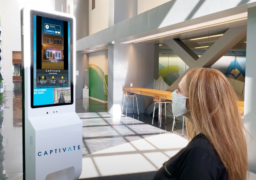 Captivate | SCAN Advertise on digital out of home displays