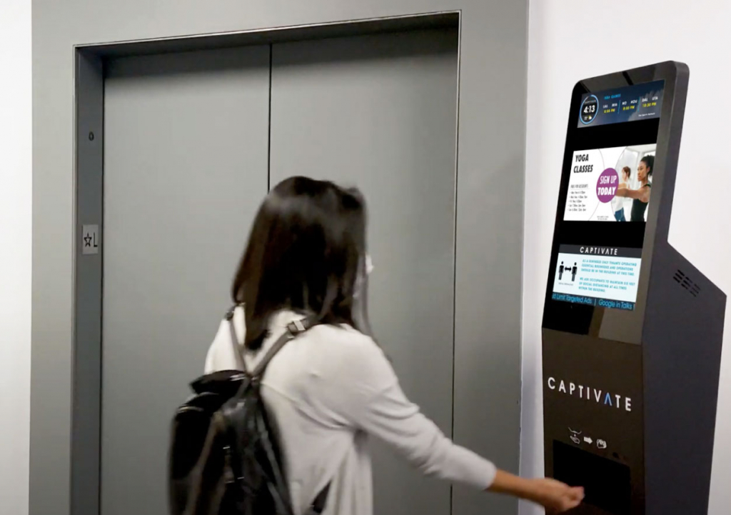 Captivate | CLEAN Advertise on digital out of home displays