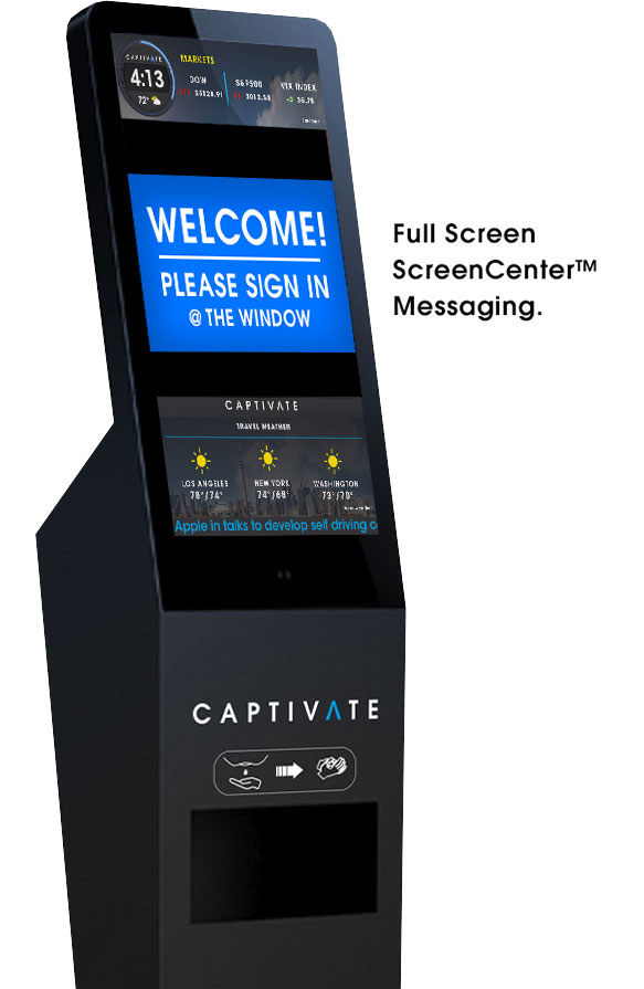 Captivate|CLEAN-Healthcare-Digital-Signage