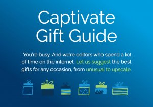 Captivate Gift Guide for Any occasion - Best Gifts For You | Captivate.com/giftguide