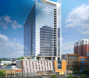 Captivate Digital Display Screens in Eleven40 Chicago Multifamily Building