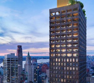 Captivate digital display Screens | 130 William St NY Multifamily Building