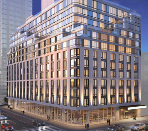 Captivate digital Display Screens 572 11th ave New York Multifamily building