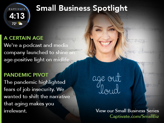 A Certain Age Small Business Spotlight May 2021