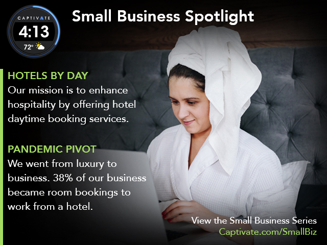 Hotels by Day - Small Business Spotlight May 2021