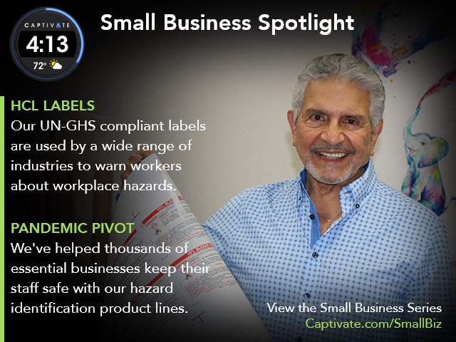 HCL Labels - Small Business Spotlight May 2021