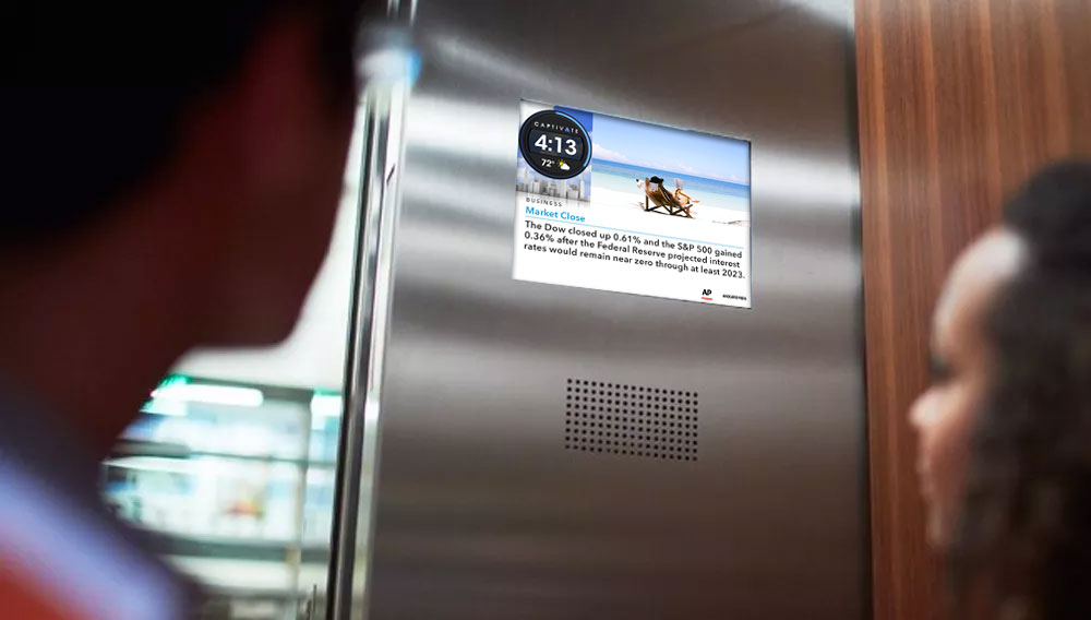 What is an elevator screen?