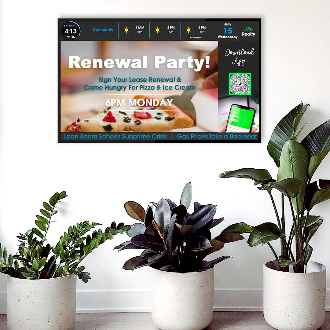 Property Management System - ScreenCenter™ - Leasing Renewal Party Messaging