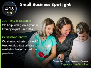Just-Right-Readers-Captivate-Small-Business-Spotlight-May-2021