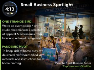 One-Strange-Bird-Featured-on-Captivate-Small-Business-Spotlight-May-2021