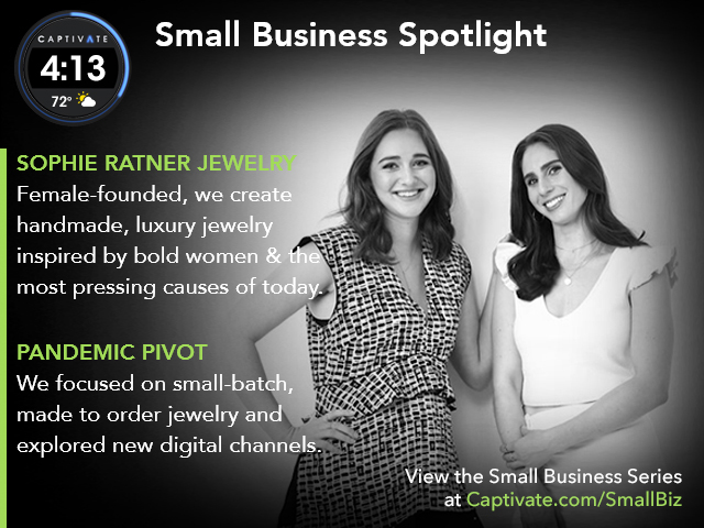 Sophie Ratner Jewelery - Small Business Spotlight May 2021