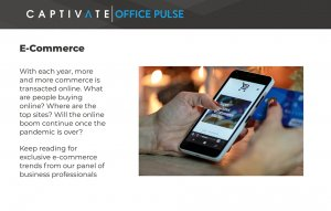 What are people buying? Captivate Office Pulse reports